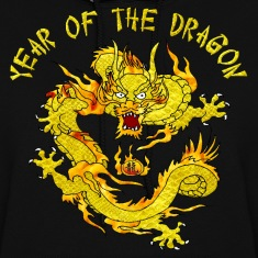 Year Of The Dragon Hoodies
