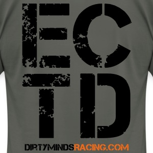 Dirty Minds Obstacle Racing Logo T-Shirts - Men's T-Shirt by American Apparel