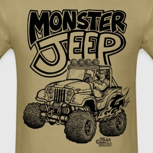 Monster Jeep - Men's T-Shirt