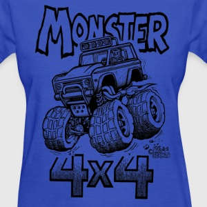 Monster Bronco 4x4 - Women's T-Shirt
