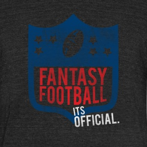 Fantasy Football - Unisex Tri-Blend T-Shirt