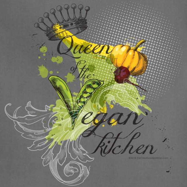 Queen of the vegan kitchen Women's Apron