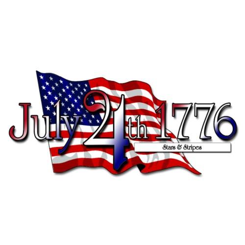 July 4th 1776 StarsStripe