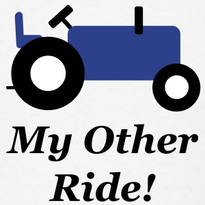 Blue Tractor Other Ride T-Shirts - Men's T-Shirt
