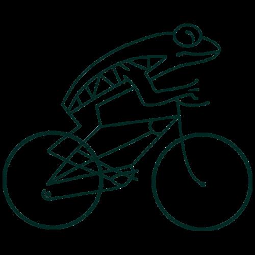 Frogbike - light background