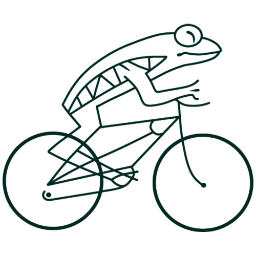 Frogbike - light background
