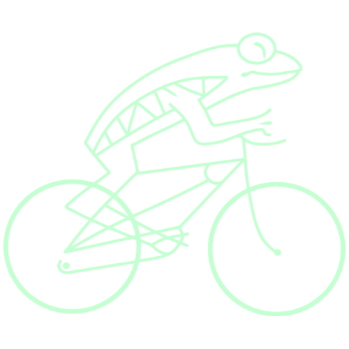 Frogbike - dark background