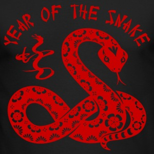 Year Of The Snake Long Sleeve Shirts - Men's Long Sleeve T-Shirt by Next Level