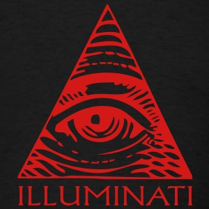 Illuminati Eye in Pyramid Shirt - Men's T-Shirt