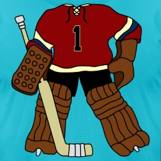 Vintage Hockey Goalie T-Shirts