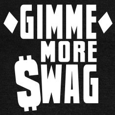 GIMME MORE SWAG with $WAG Long Sleeve Shirts