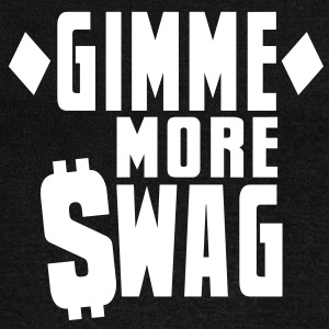 GIMME MORE SWAG with $WAG Long Sleeve Shirts - Women's Wideneck Sweatshirt