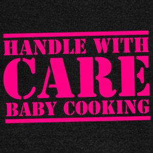 HANDLE with CARE BABY COOKING! Long Sleeve Shirts - Women's Wideneck Sweatshirt