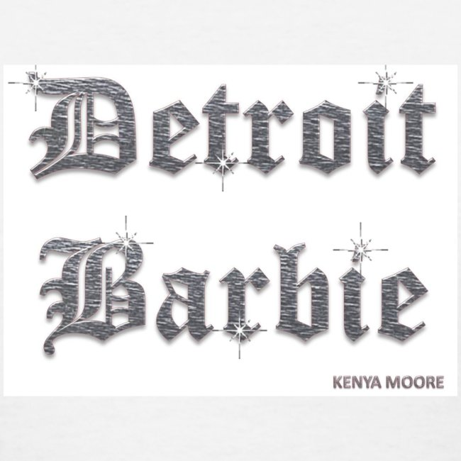 DETROIT BARBIE SILVER
