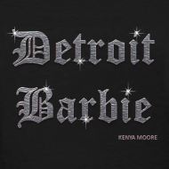 Design ~ DETROIT BARBIE SILVER AND BLACK
