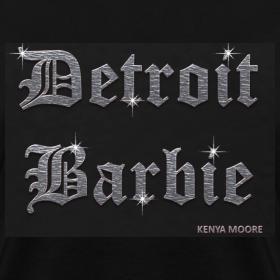 Design ~ DETROIT BARBIE SILVER AND BLACK