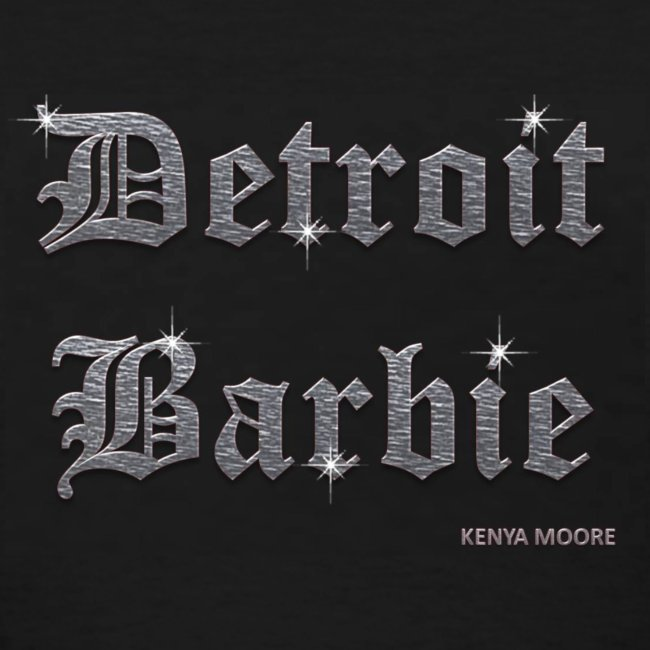 DETROIT BARBIE SILVER AND BLACK