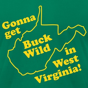 Going Buckwild! T-Shirts - Men's T-Shirt by American Apparel