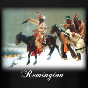Remington - Return of the Blackfoot  - Men's T-Shirt