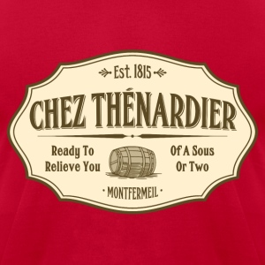 Chez Thénardier (Men) - Men's T-Shirt by American Apparel