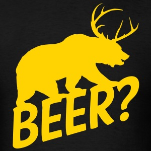 The Bear Deer Beer - Men's T-Shirt