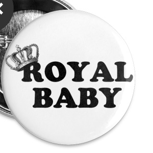 Royal Baby - Large Buttons