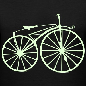 Retro Bike Women's T-Shirts - Women's V-Neck T-Shirt