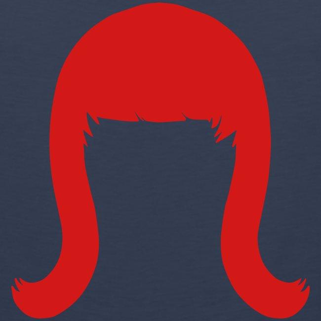Miss Coco Peru Wig Logo - Men's Premium Tank