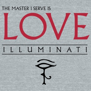 Illuminati Master I serve T-Shirts - Unisex Tri-Blend T-Shirt