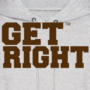 GET RIGHT Hoodies - Men's Hoodie