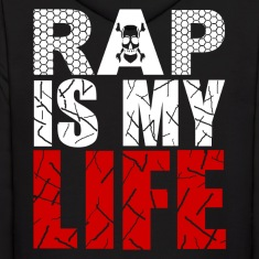 rap is my life Hoodies