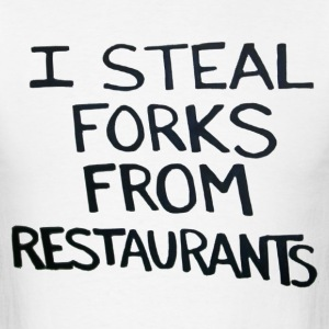 Forks - Men's T-Shirt