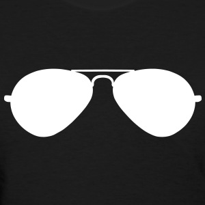 Aviator Sunglasses Women's T-Shirts - Women's T-Shirt