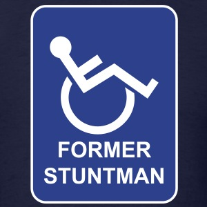 Former Stuntman - Men's T-Shirt