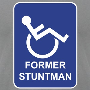 Former Stuntman - Men's T-Shirt by American Apparel