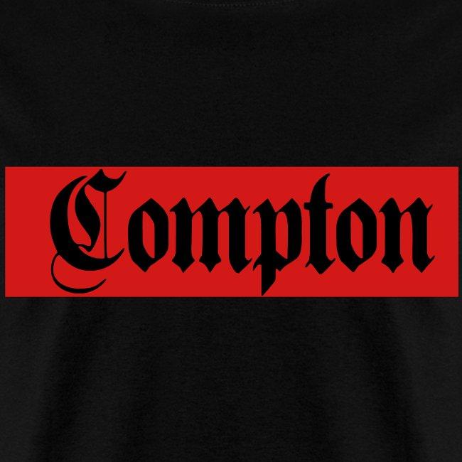 Red & Black COMPTON tee