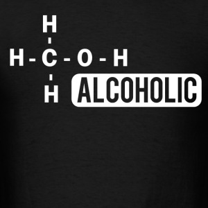 alcoholic - Men's T-Shirt