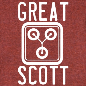 Great Scott! T-Shirts - Unisex Tri-Blend T-Shirt by American Apparel