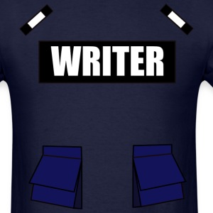 Writer Bulletproof Vest Castle Tshirt - Men's T-Shirt