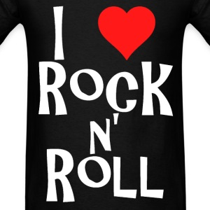 i love rock n' roll T-Shirts - Men's T-Shirt