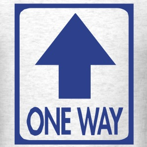 One way  - Men's T-Shirt