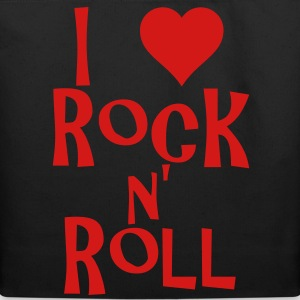 i love rock n' roll Bags  - Eco-Friendly Cotton Tote