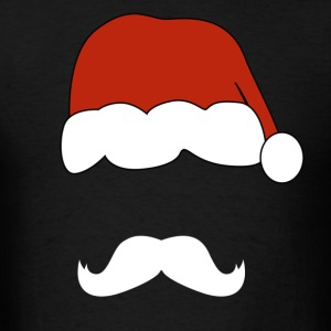 santa claus mustache - Men's T-Shirt