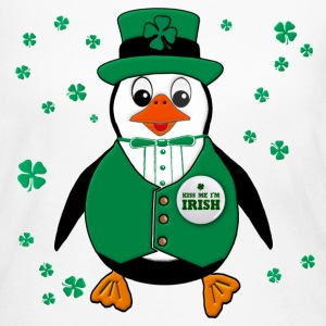 St. Patty's Day Penguin Long Sleeve Shirts - Women's Long Sleeve Jersey T-Shirt