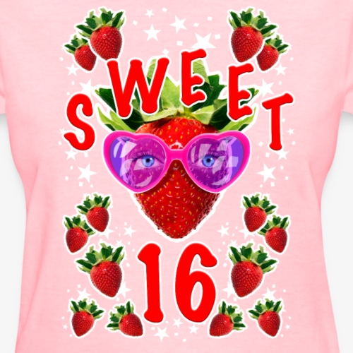 Sweet 16th Birthday Girlie Strawberry Sunglasses