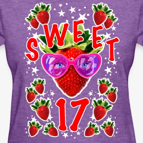 Sweet 17th Birthday Girlie Strawberry Sunglasses