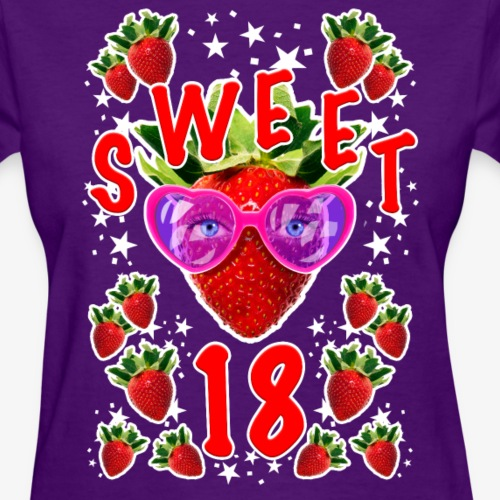 Sweet 18th Birthday Girlie Strawberry Sunglasses