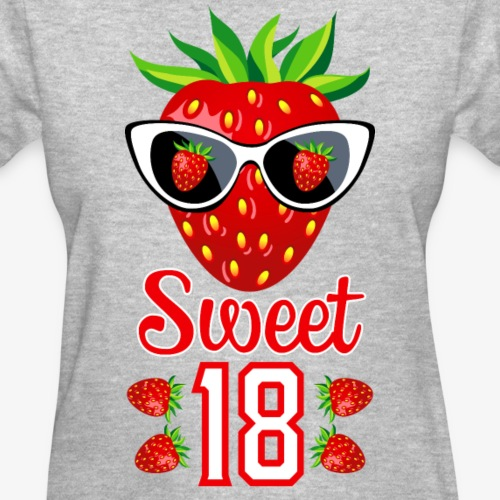 3 Sweet 18th Birthday Girlie Strawberry Sunglasses