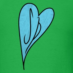 Scott Pilgrim T-Shirts: SP Heart Initials
