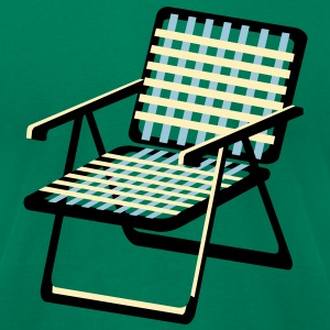 Lawn Chair T-Shirts - Men's T-Shirt by American Apparel